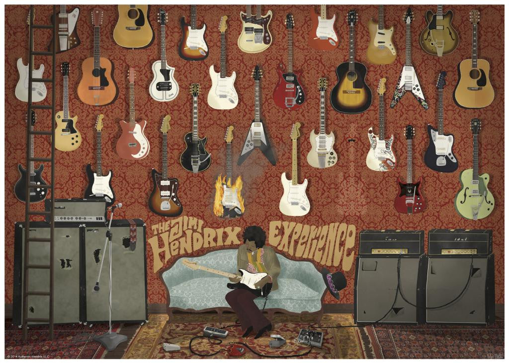 "Max Dalton - ""The Jimi Hendrix Experience"" - Spoke Art"