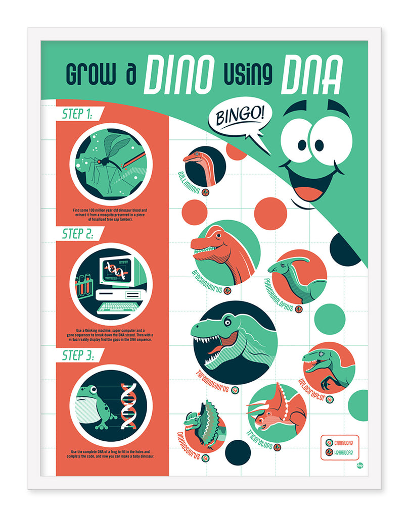 "Dave Perillo - ""Dino DNA"" - Spoke Art"