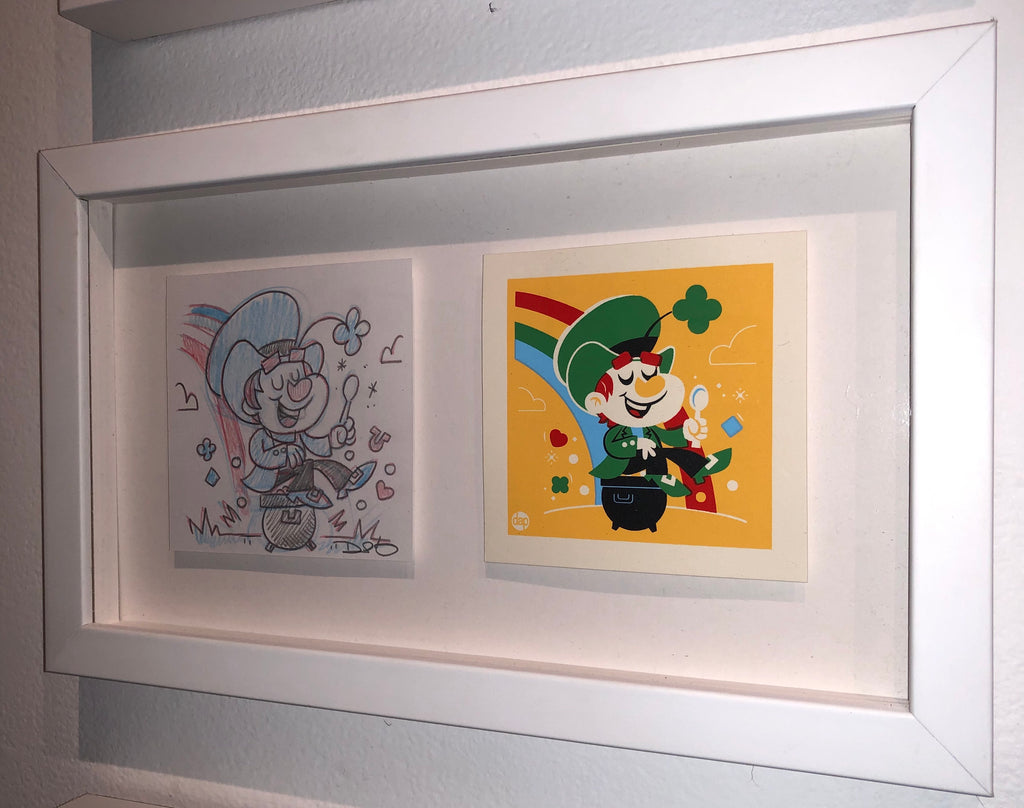 "Dave Perillo - ""Lucky Original Sketch & Print"""