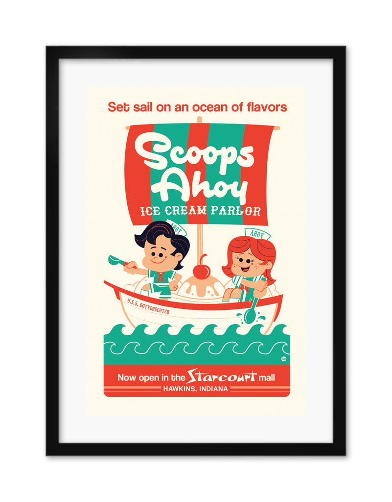 "Dave Perillo - ""Scoops Ahoy"" - Spoke Art"