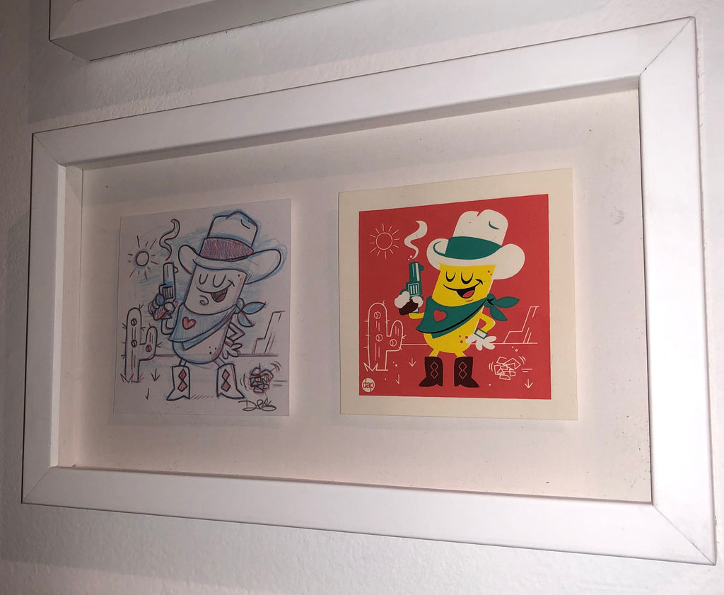 "Dave Perillo - ""Twinkie The Kid Original Sketch & Print"""