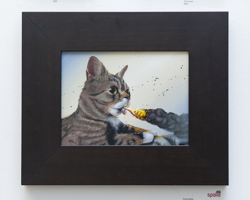 "Robert Bowen - ""Flame On, Lil' Bub!"""