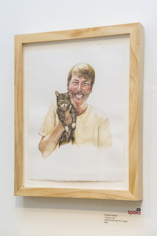 "Christine Hostetler - ""Lil Bub in Like"""