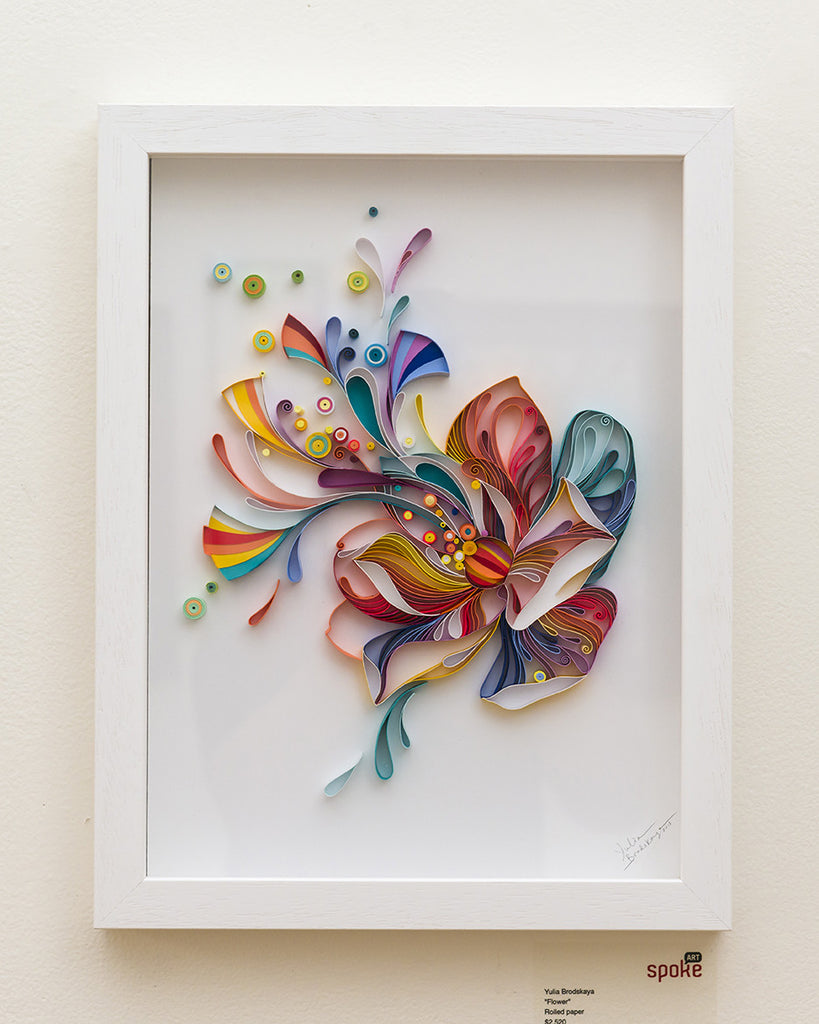"Yulia Brodskaya - ""Flower"" - Spoke Art"
