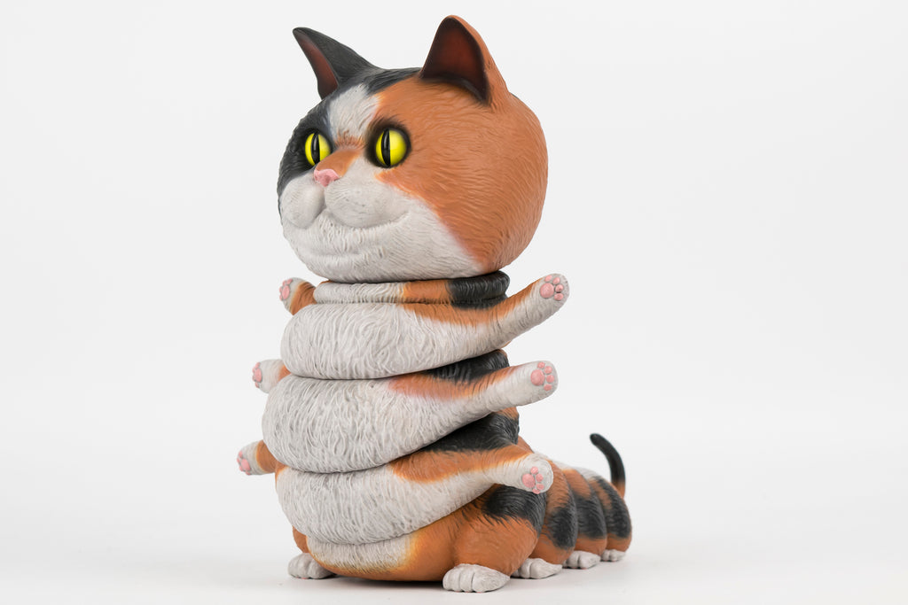 Casey Weldon - Calico Kittypillar Vinyl Figure - Spoke Art
