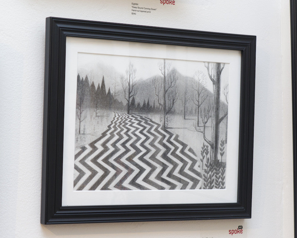 "Ruel Pascual - ""Twin Peaks"" - Spoke Art"