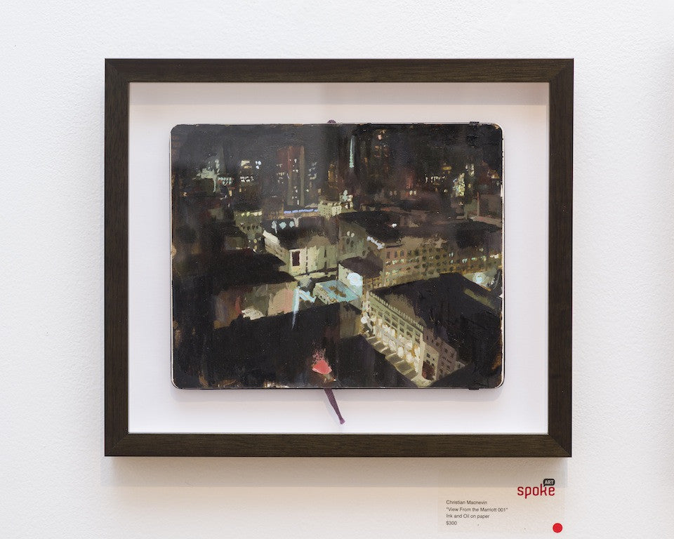"Christian MacNevin - ""View From the Marriott 001"" - Spoke Art"