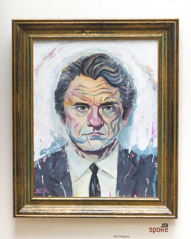 "Rich Pellegrino - ""Mr. White"" (Harvey Keitel) - Spoke Art"