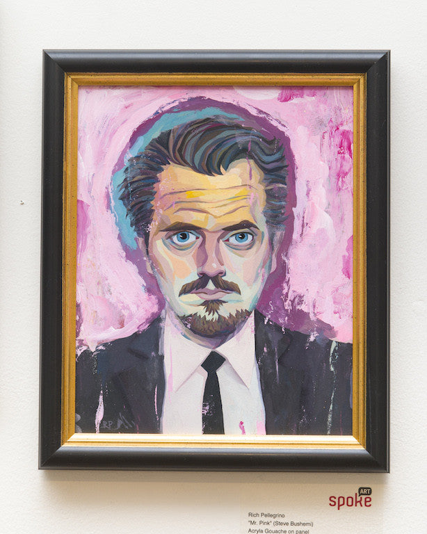 "Rich Pellegrino - ""Mr. Pink"" (Steve Buscemi) - Spoke Art"