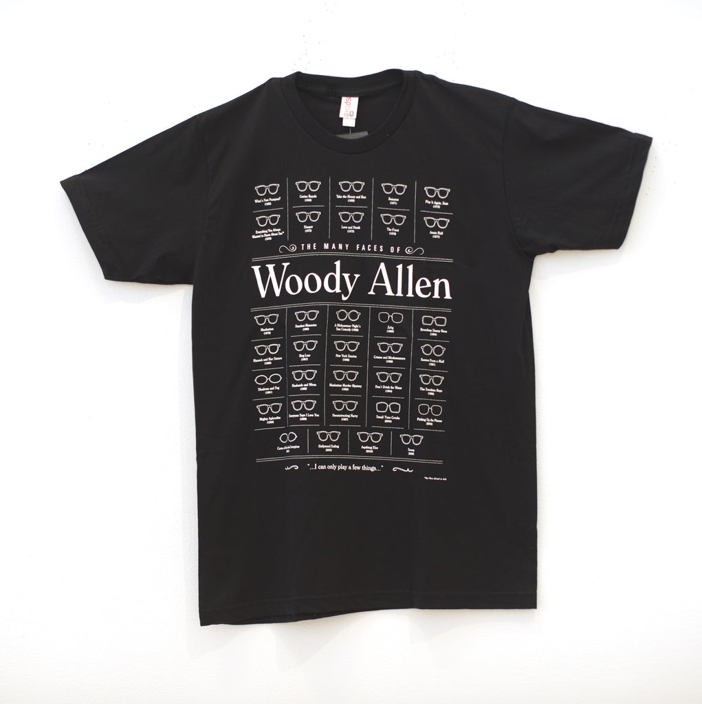 "Brandon Schaefer - ""The Many Faces of Woody Allen"" - Spoke Art"
