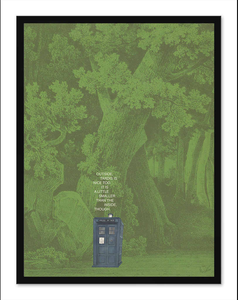 "Max Dalton - ""Tardis"" - Spoke Art"