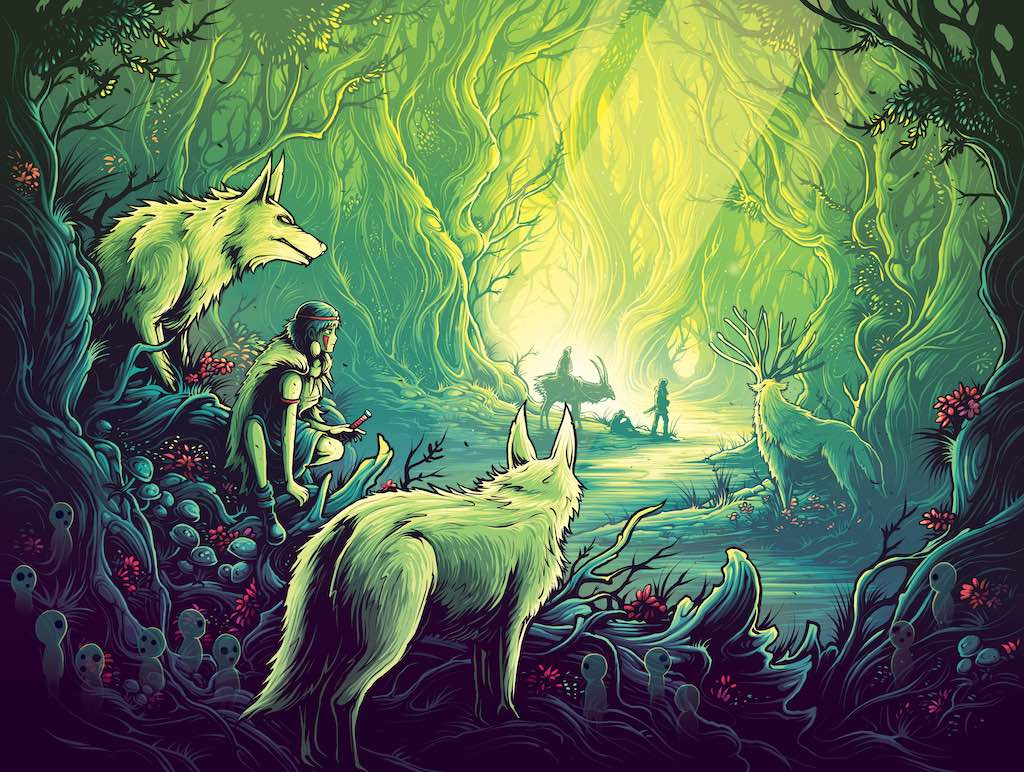 "Dan Mumford - ""To See with Eyes Unclouded by Hate."" - Spoke Art"