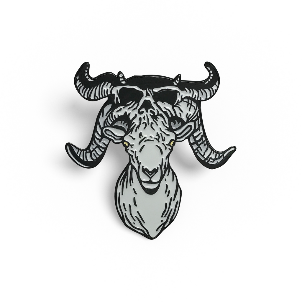 Slayer Deer & Danzig Ram Pin Set
