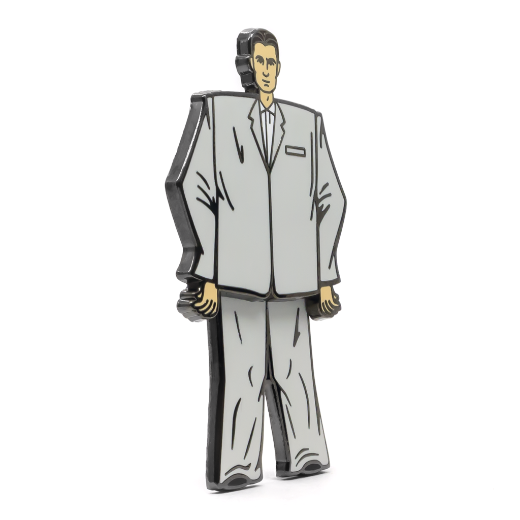 """Stop Making Sense"" Enamel Pin"