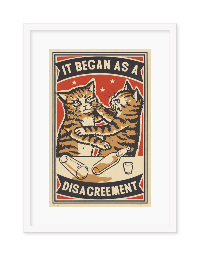 "Arna Miller & Ravi Zupa - ""A Disagreement"" - Spoke Art"