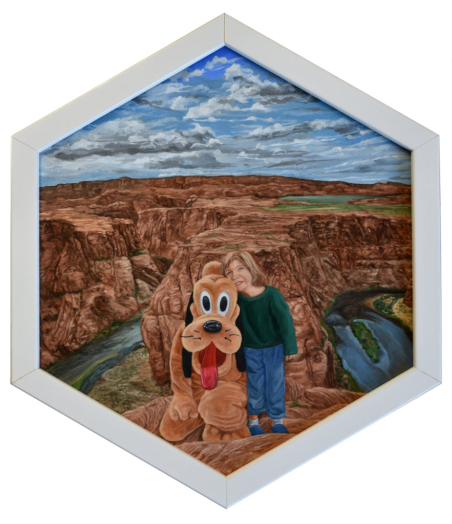 "Peter Adamyan - ""Disneyfying Horseshoe Bend"" - Spoke Art"