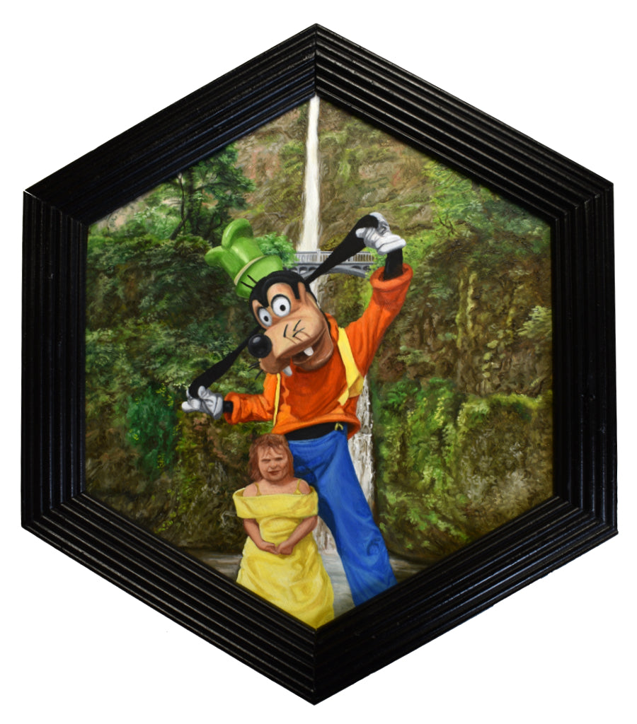 "Peter Adamyan - ""Disneyfying Multnomah Falls"" - Spoke Art"