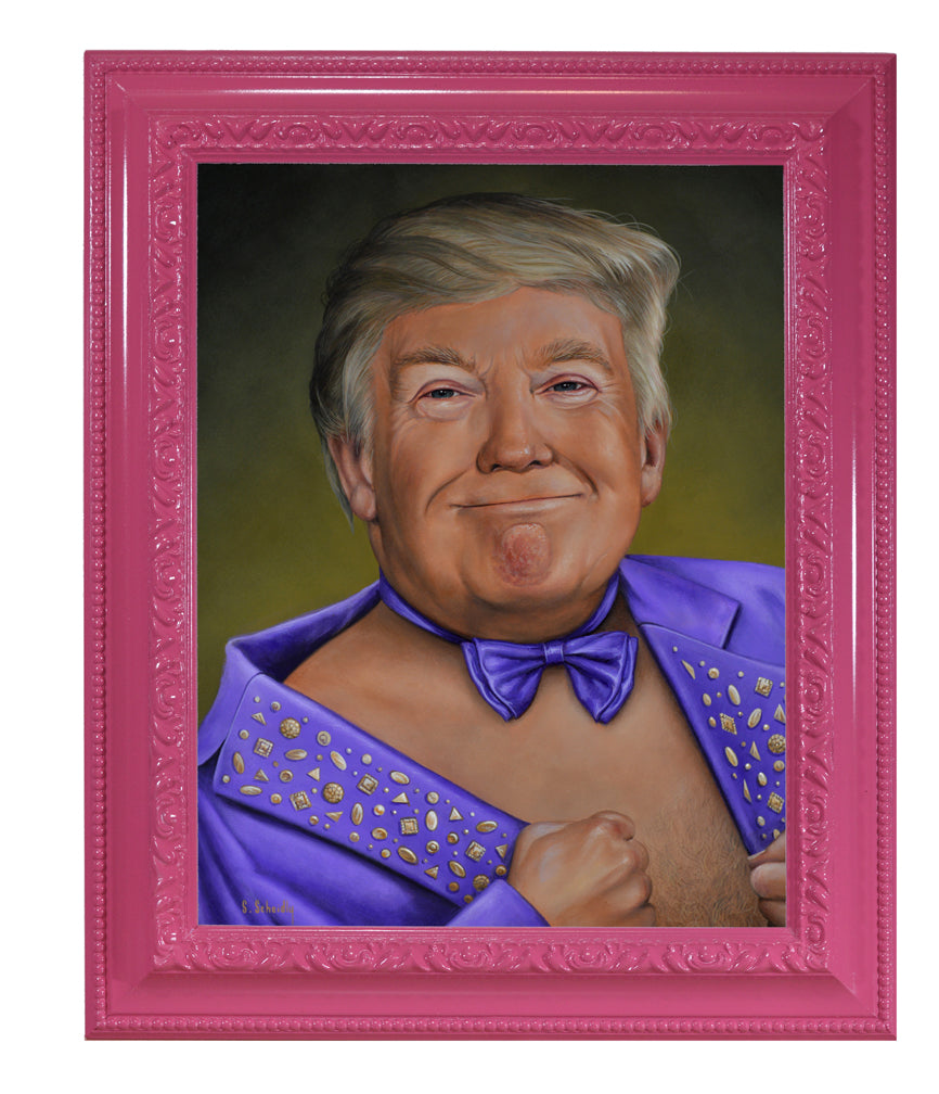 "Scott Scheidly - ""Donald Trump"" - Spoke Art"