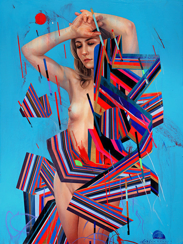 "Erik Jones - ""Dress of Ribbon"""