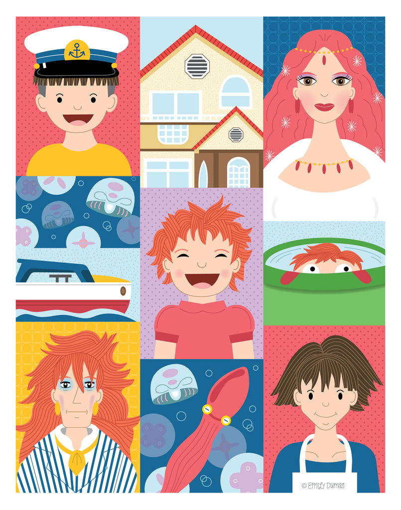 "Emily Dumas - ""Ponyo's World"" - Spoke Art"