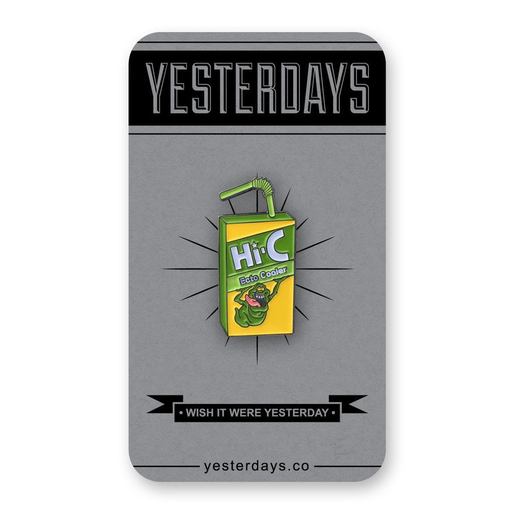 Juice Box Enamel Pin - Spoke Art