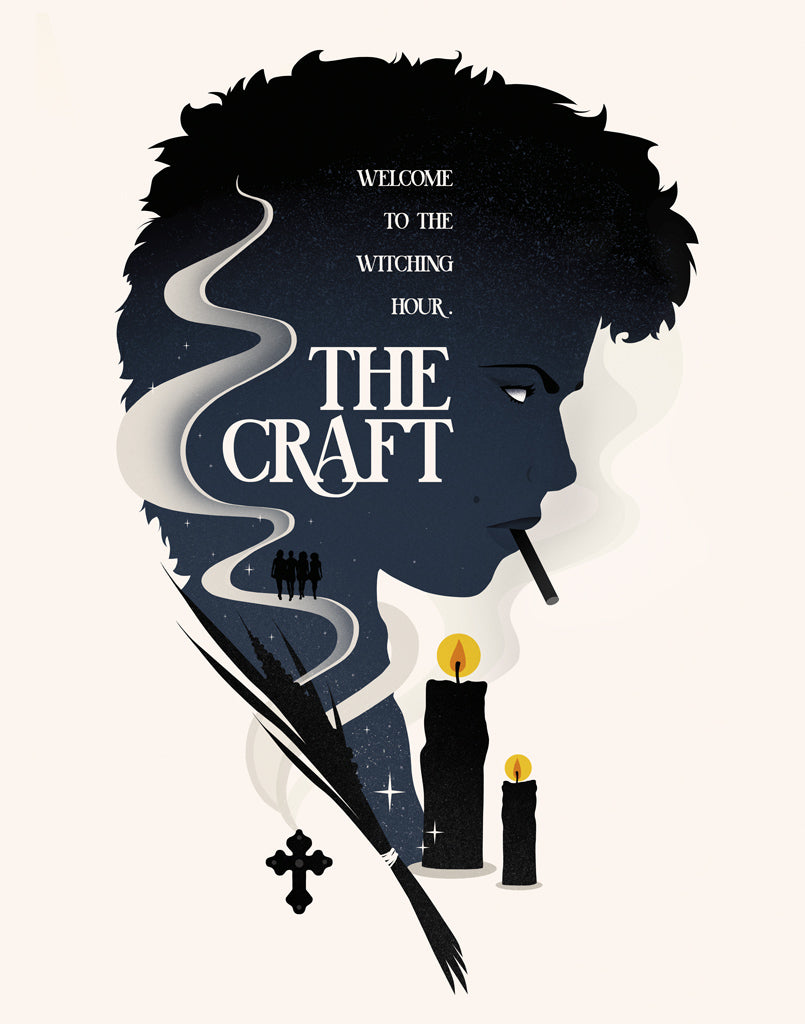 "Eileen Steinbach (SG Posters) - ""The Craft"" Print - Spoke Art"