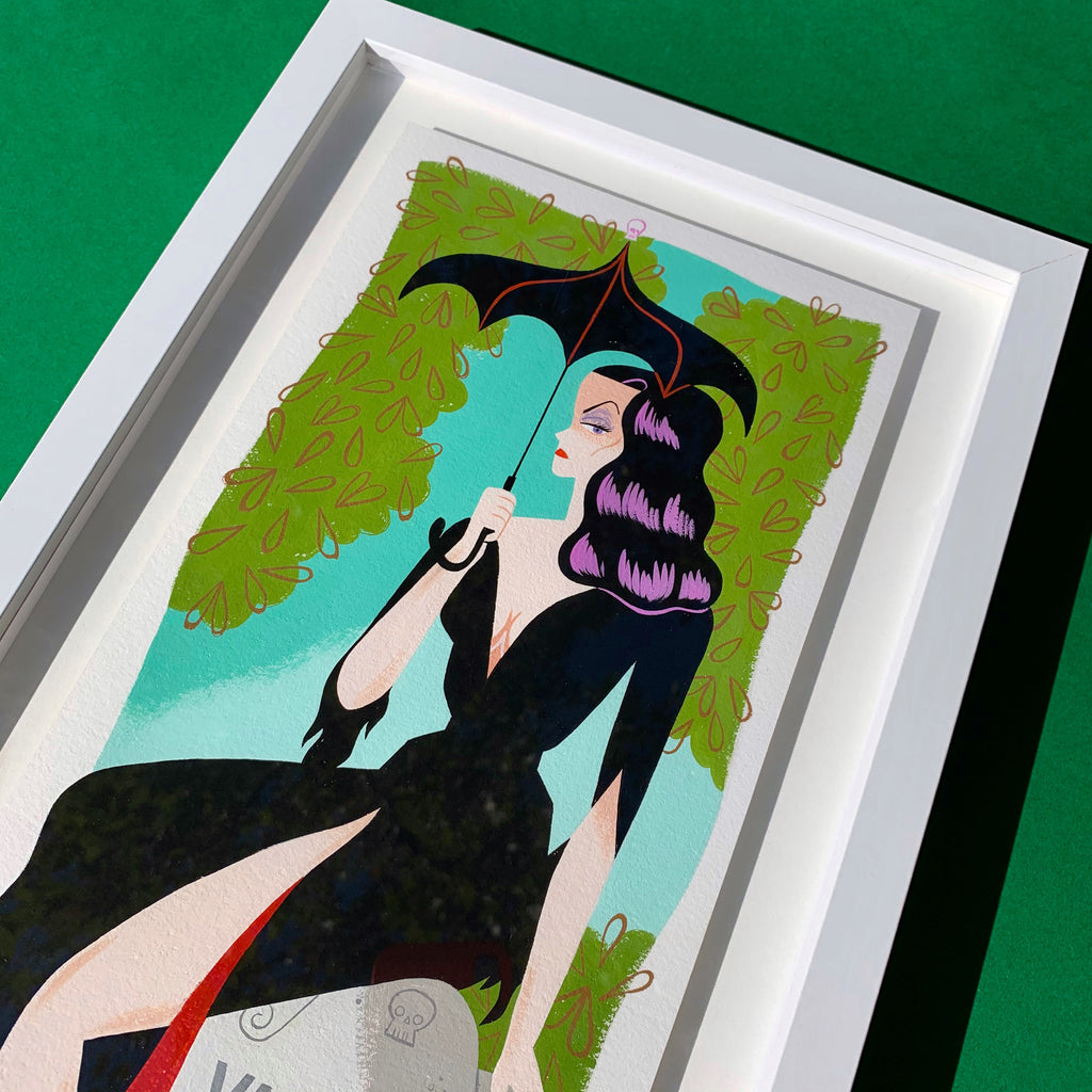 "Ellen Surrey - ""Vampira"" - Spoke Art"