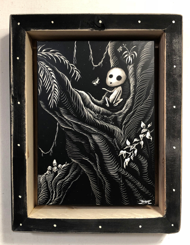 "Ellie Rusinova - ""Kodama #2"" - Spoke Art"