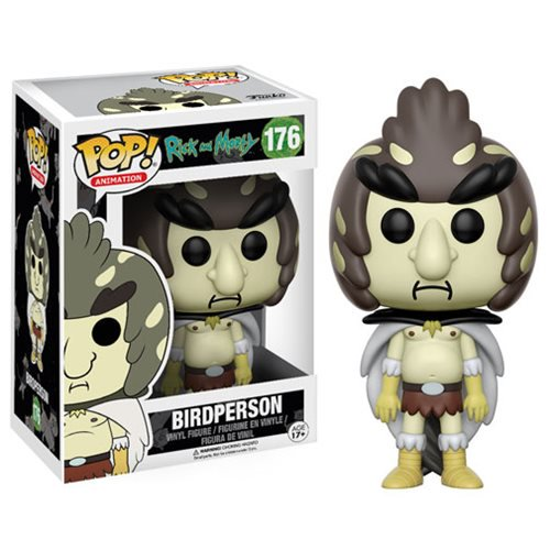 "Funko POP! Rick and Morty: ""Bird Person"" Vinyl Figure - Spoke Art"