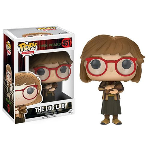 "Funko POP Twin Peaks ""Log Lady"" Vinyl Figure - Spoke Art"