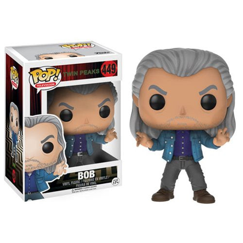 "Funko POP Twin Peaks ""Bob"" Vinyl Figure - Spoke Art"