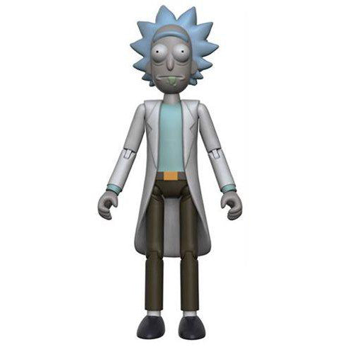 "Rick and Morty ""Rick"" Action Figure - Spoke Art"