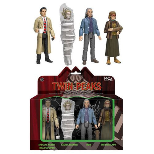 Twin Peaks Action Figure 4-Pack - Spoke Art