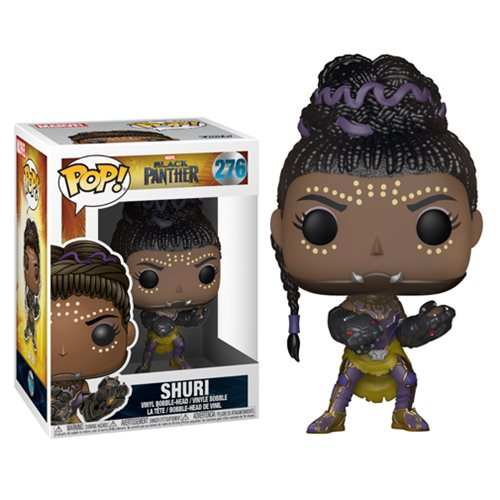 "Funko POP! Black Panther ""Shuri"" Vinyl Figure - Spoke Art"