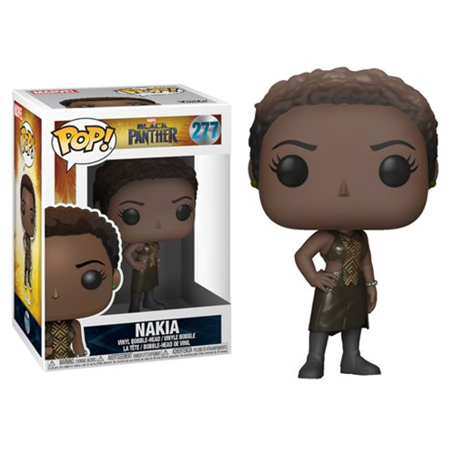 "Funko POP! Black Panther ""Nakia"" Vinyl Figure - Spoke Art"