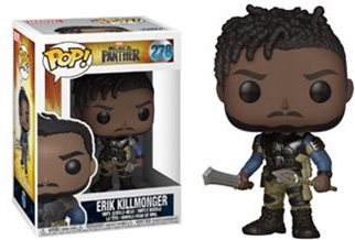 "Funko POP! Black Panther ""Erik Killmonger"" Vinyl Figure - Spoke Art"