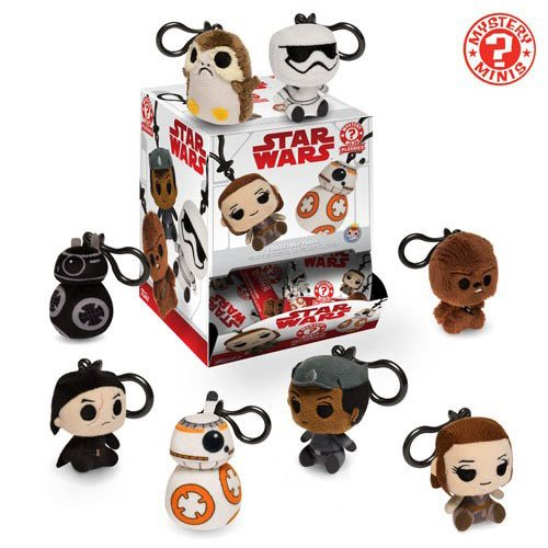 Star Wars: The Last Jedi Plush Key Chain Blind Bag