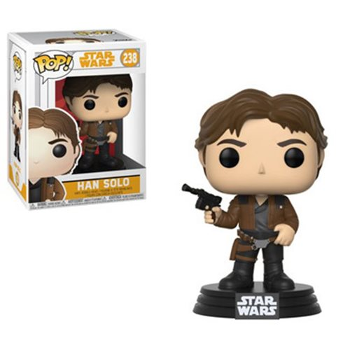 "Funko POP! Star Wars: Solo ""Han Solo"" Vinyl Figure - Spoke Art"