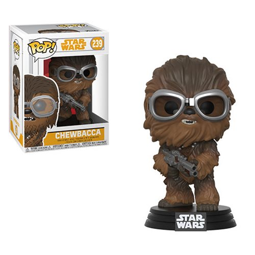 "Funko POP! Star Wars: Solo ""Chewbacca"" Vinyl Figure - Spoke Art"