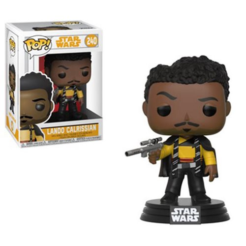 "Funko POP! Star Wars: Solo ""Lando Calrissian"" Vinyl Figure - Spoke Art"