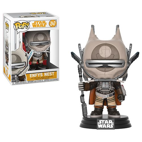 "Funko POP! Star Wars: Solo ""Enfys Nest"" Vinyl Figure - Spoke Art"
