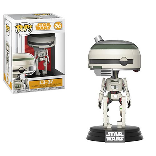 "Funko POP! Star Wars: Solo ""L3-37"" Vinyl Figure - Spoke Art"