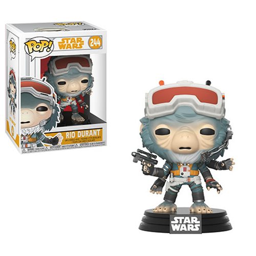 "Funko POP! Star Wars: Solo ""Rio Durant"" Vinyl Figure - Spoke Art"