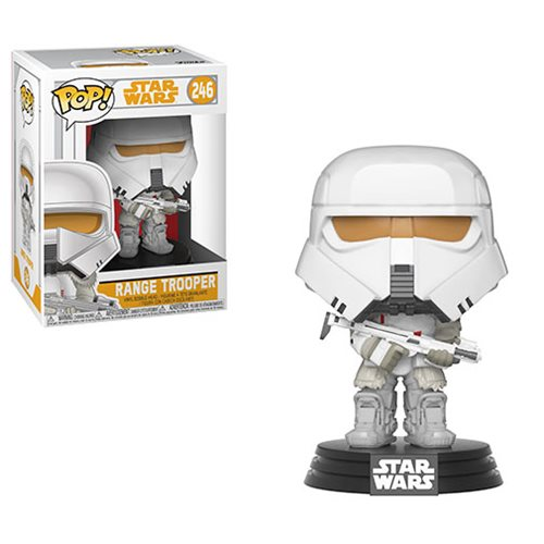 "Funko POP! Star Wars: Solo ""Range Trooper"" Vinyl Figure - Spoke Art"