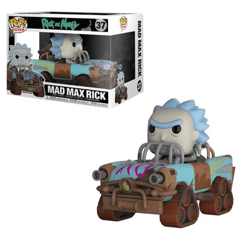 "Funko POP! Rick and Morty: ""Mad Max Rick"" Vinyl Figure"