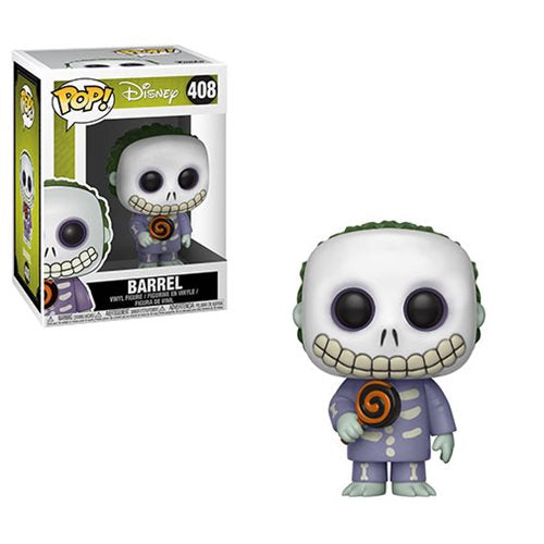 "Funko POP! The Nightmare Before Christmas ""Barrel"" Vinyl Figure - Spoke Art"
