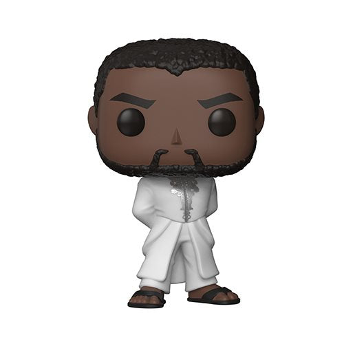 "Funko POP! Black Panther ""White Robe"" Vinyl Figure - Spoke Art"