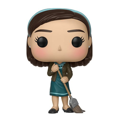 "Funko POP! The Shape of Water ""Elisa with Broom"" Vinyl Figure - Spoke Art"