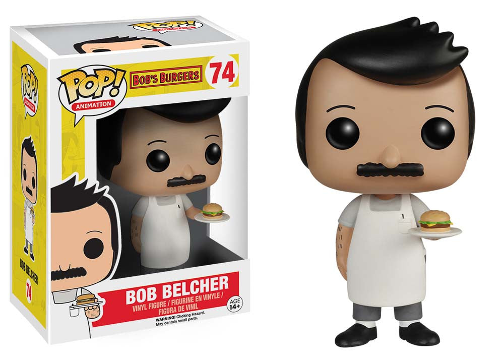 "Funko POP Animation Bob's Burgers ""Bob"" Action Figure - Spoke Art"