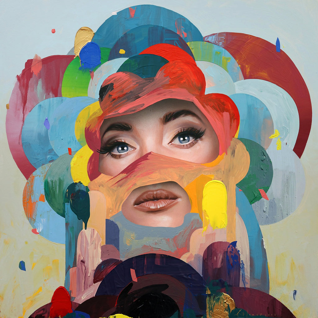 "Erik Jones - ""Flower"" - Spoke Art"